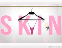 _S K I N_ Nina Lace Thong Pink