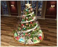 <Heart Homes> Merry Christmas Tree  DECORATIVE (BOXED)