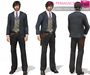 FULL PERM Meli Imako Full Perm Mesh Men's Wild West Full Outfit