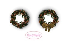 Evergreens & Berries Holiday Wreath