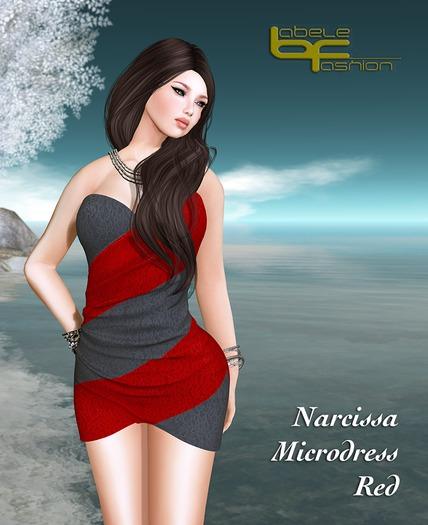 Babele Fashion :: Narcissa Microdress Red