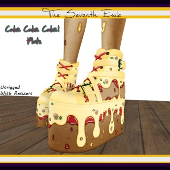 The Seventh Exile: Cake Cake Cake! Plats - Pizza