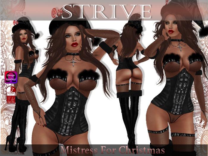 {SD} MISTRESS FOR CHRISTMAS (Slink & Omega Appliers)