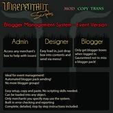 [UN] Blogger Management System - Event Version