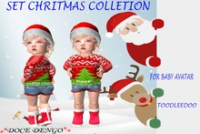 SET CHRISTMAS COLLETION  noel