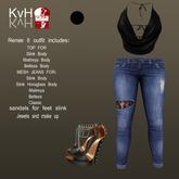 *KvH* Renee outfit II black (Box)