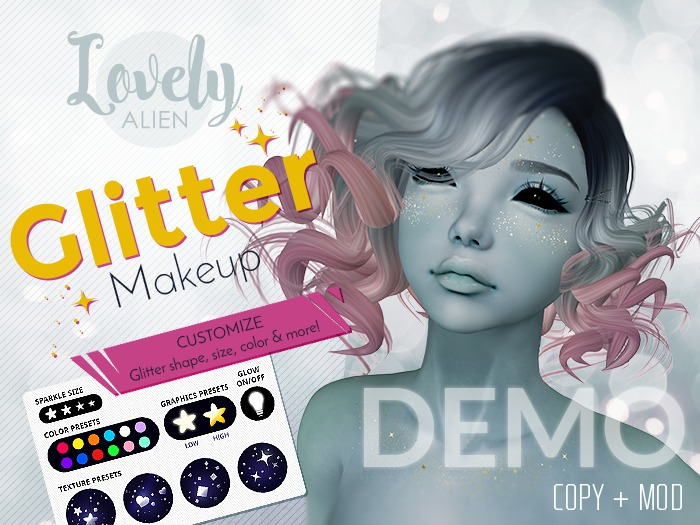 ((LovelyAlien)) GlitterMakeup_DEMO