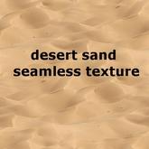 desert sand - seamless texture
