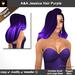 A a jessica hair purple pic