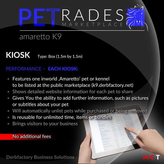 Petrades - Breedable Web Solution (Amaretto Kiosk K9)
