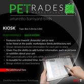Petrades - Breedable Web Solution (Amaretto Barnyard Birds)