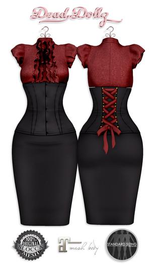 .::Dead Dollz::. Hecate - Red MAITREYA