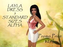 Layla Dress and HUD