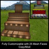 Mesh Super Stall 4 Land Impact