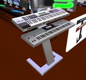 XA Fantom and E-60 on stand Animated