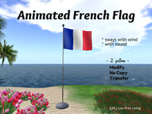 Animated French Flag - France flag, Independence Day