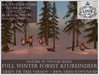 LOVE - NATURE IN WINTER - FULL FOREST KIT WITH REINDEER (GREEN FIR VERSION) *PROMO*