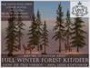 LOVE - NATURE IN WINTER - FULL FOREST KIT WITH DEER (SNOW FIR VERSION) *PROMO*