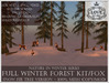 LOVE - NATURE IN WINTER - FULL FOREST KIT WITH FOXES (SNOW FIR VERSION) *PROMO*