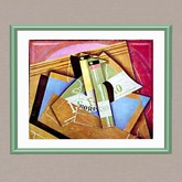 Juan Gris-Stillife with Bordeaux Bottle tagmeadowbrook  tagtahoe