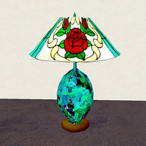 Table Lamp Roses