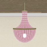 Chandelier Swinging Pink
