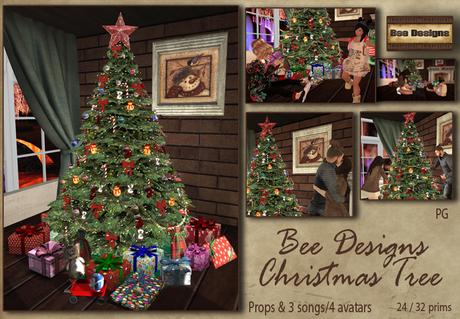 .:Bee Designs:. Christmas tree - PG
