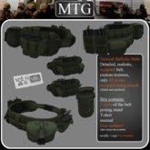 >>MTG<< Tactical Ballistic Belt OLIVE DRAB box 1.0