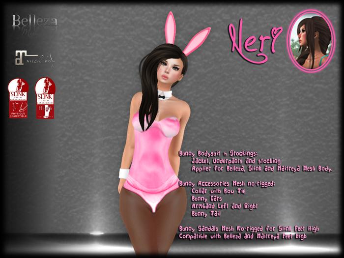 εїз ☆ Neri ☆ Girl Pink Bunny ☆ εїз