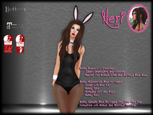 εїз ☆ Neri ☆ Girl Black Bunny ☆ εїз