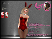 εїз ☆ Neri ☆ Girl Red Bunny ☆ εїз