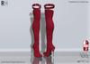 !RH / Avila - Mesh - Boots - (Red)