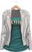 Blueberry - Asia - Mesh Leather Jacket - Maitreya/Belleza/Slink - White