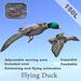 Flying duck box