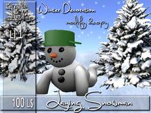 Laying Snowman  MC