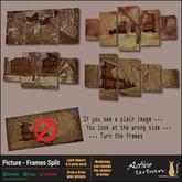 [A-U] Deco :: Picture - Frames Split