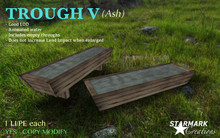 1 LI/PE! SIMPLE TROUGH V (Ash) SET with ANIMATED WATER from STARMARK CREATIONS -- promo --