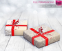 FULL PERM Meli Imako Full Perm Mesh Xmas Gift Boxes with Berries