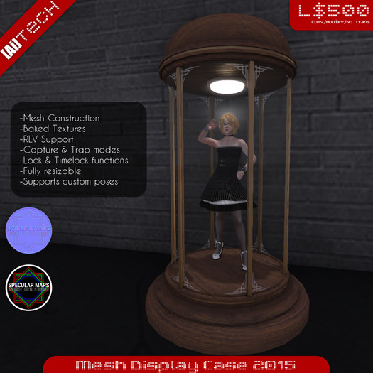 [Ai] Mesh Display Case 2015