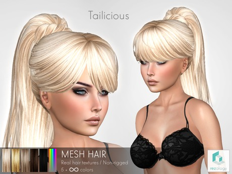 rezology Tailicious (mesh hair)