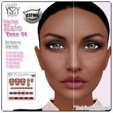 *YS&YS* Kate Tone04 Skin Applier For CATWA Mesh Head
