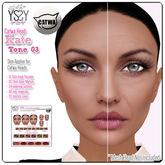 *YS&YS* Kate Tone03 Skin Applier For CATWA Mesh Head