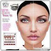 *YS&YS* Kate Tone02 Skin Applier For CATWA Mesh Head