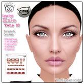 *YS&YS* Kate Tone00 Skin Applier For CATWA Mesh Head