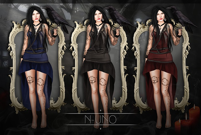 N-Uno - Witch Dress FATPACK FREE GIFT