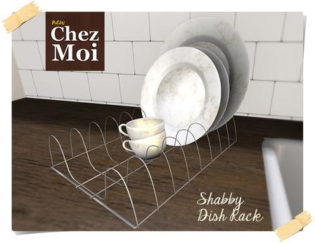 Shabby Dish Rack ♥ CHEZ MOI