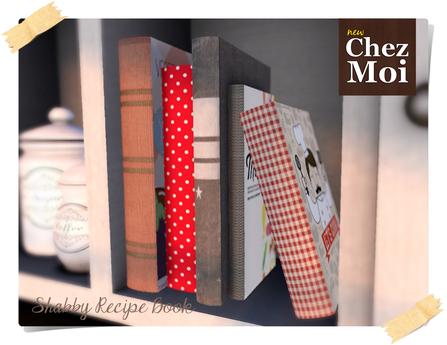 Shabby Recipe Books ♥ CHEZ MOI