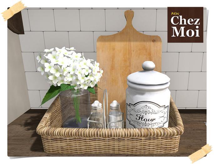Kitchen Basket ♥ CHEZ MOI