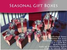 MOCO EMPORIUM ~ FREE Lux Seasonal Mesh Gift Box Sets