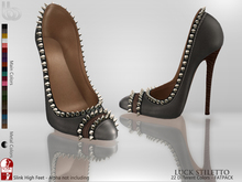 Bens Boutique - Luck Stiletto (Slink High)(Fatpack)
